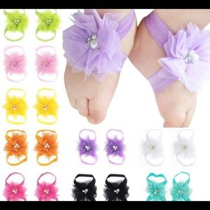 Other - Barefoot baby sandals